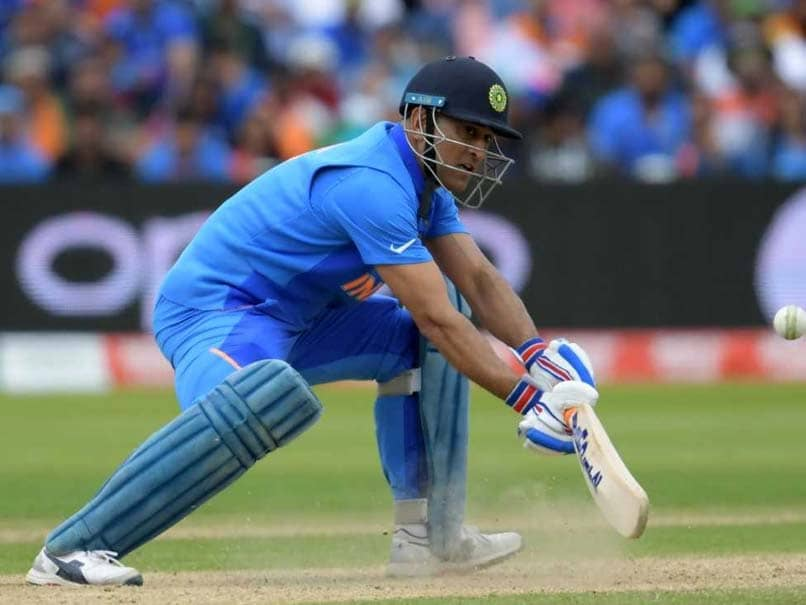 """World Cup Semi-Final: """"Where Is Dhoni?"""" Fans Ask As MS Dhoni Does Not Come In To Bat Early"""