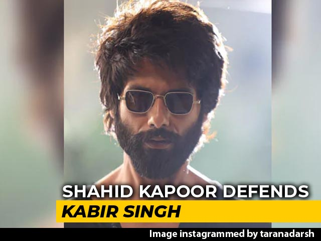 Shahid Defends Kabir Singh: 'We Want You To Feel He Is Unacceptable'