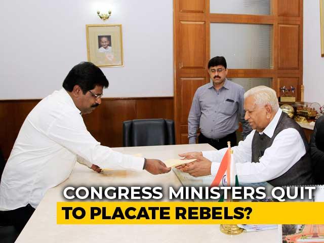 Video : Karnataka Coalition Fights To Survive, Rebels Move From Mumbai To Goa