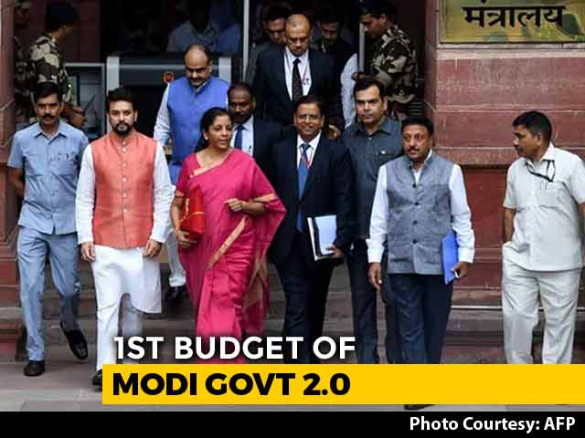 Video : Tax For Wealthy, Focus On Poor In Nirmala Sitharaman's Budget