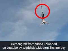 Man Plummets To Ground As Bungee Rope Snaps In Horrifying Video