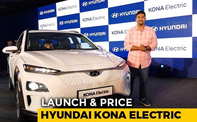 Launch Price Hyundai Kona Electric