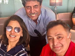 Rishi Kapoor And Neetu 'Super Charged' About World Cup 2019 With Cricket Legend Kapil Dev