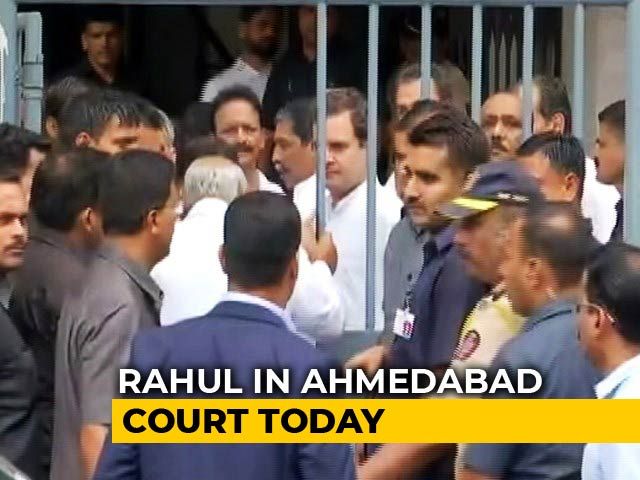 "Video : Rahul Gandhi To Appear In Court For Amit Shah ""Murder Accused"" Defamation Case"