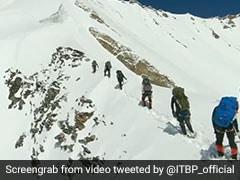 एवलांच आने से पहले कैमरे में कैद नंदा देवी समिट करने गए पर्वतारोहियों का वीडियो आया सामने