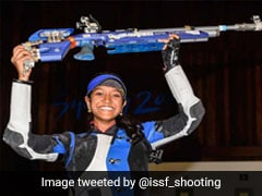 Valarivan Wins Gold; India Bag 10m Air Rifle Team Gold With World Record