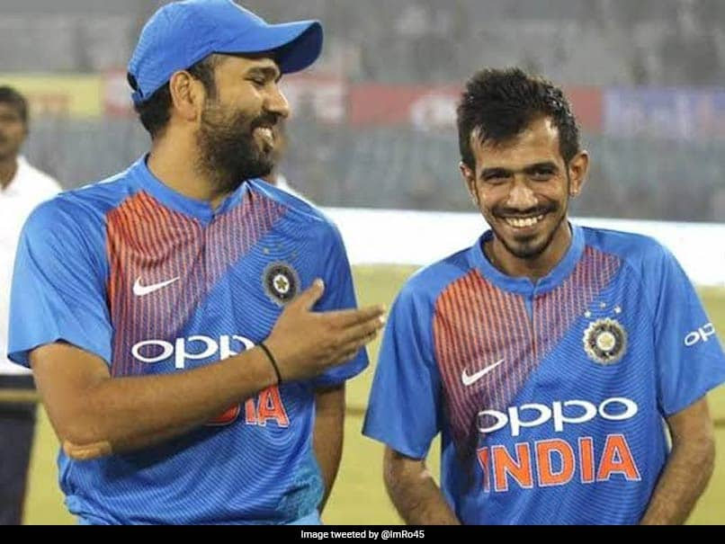"Yuzvendra Chahal Thanks Rohit Sharma For Birthday Wishes, Calls Him ""The Real GOAT"""