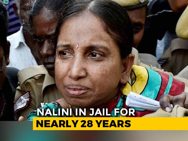 Video : Nalini Sriharan, Rajiv Gandhi Assassination Convict, Gets 30-Day Parole