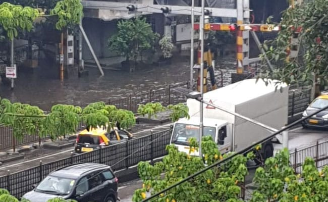 Heavy Rain In Mumbai, Trains Delayed, 8 Injured As 3 Cars Collide