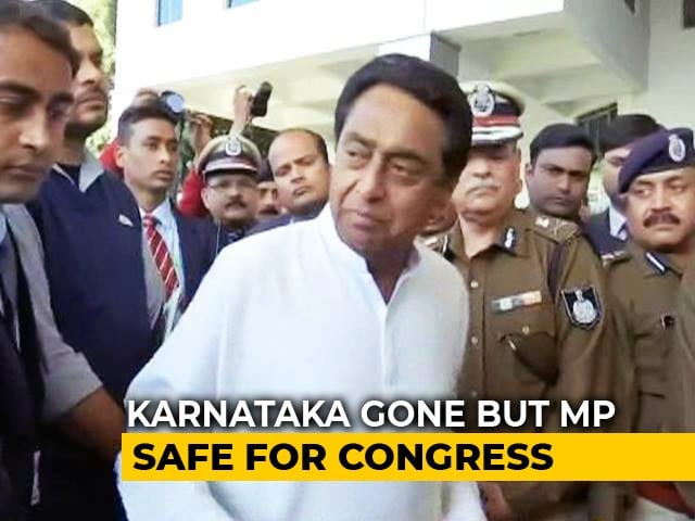 Video : Day After Karnataka, 2 BJP Lawmakers Vote With A Congress Government