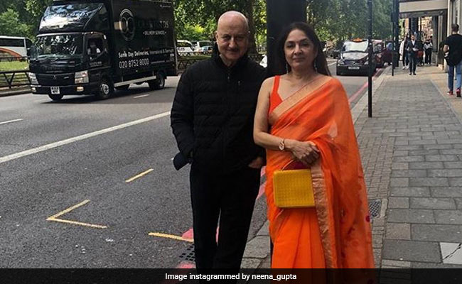 Neena Gupta And Anupam Kher Add Colour And Jokes To London
