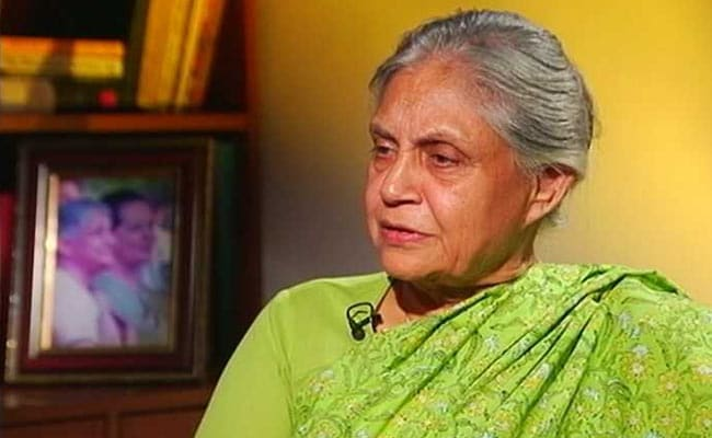 Sheila Dikshit's Most Expensive Trip Was For C-40 Climate Summit In 2007: Report
