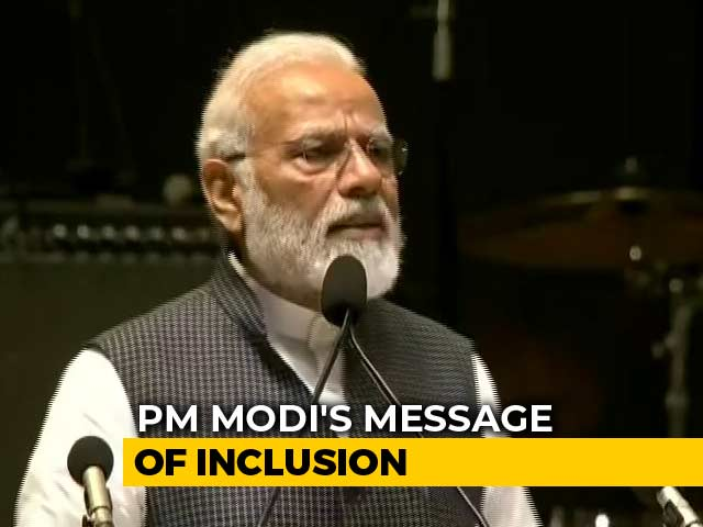 Video : PM Modi's Message Of Inclusion Day After Kargil War Anniversary