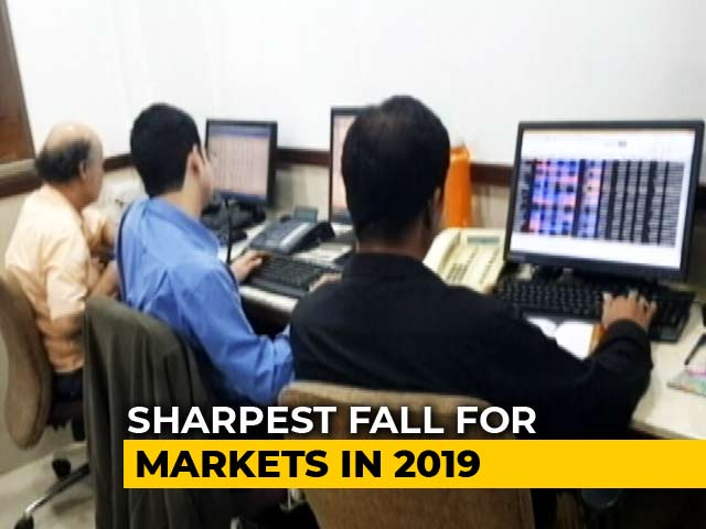 Video : Sensex Slumps 793 Points On Higher Tax For Foreign Investors
