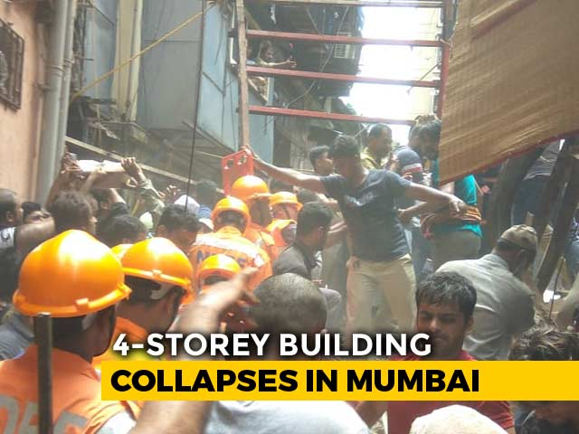 Video : 10 Dead As Decades-Old Mumbai Building Collapses, Many Feared Trapped