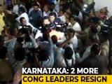 Video : Karnataka Coalition Down 18; No Entry For Leader at Rebels' Mumbai Hotel