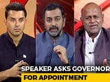 Video : Karnataka Crisis Turns Speaker Vs Governor