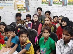 At Delhi Slum, Rohingya Pin Hopes On Education For A Better Life
