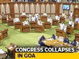 Video : After Karnataka, Congress Meltdown In Goa. 10 Of 15 Lawmakers To Join BJP