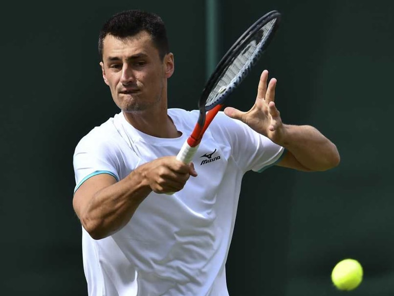 "Bernard Tomic Fined More Than $56,000 For ""Embarrassing"" Loss At Wimbledon"