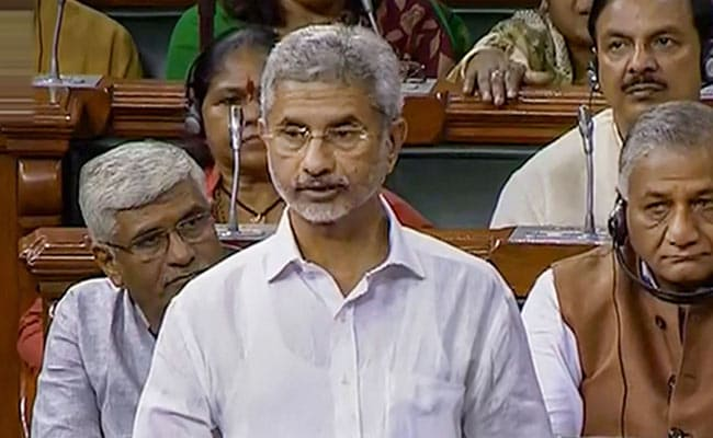 S Jaishankar To Meet Russian Foreign Minister In Moscow On Tuesday