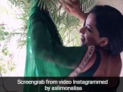 टीवी एक्ट्रेस मोनालिसा ने किया आमिर खान के सॉन्ग पर किया डांस, वायरल हुआ VIDEO