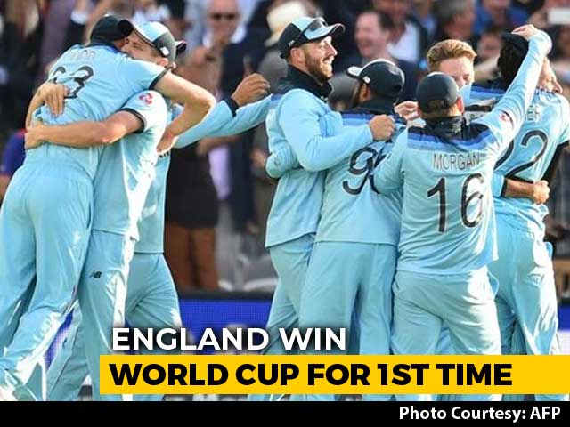 England Win Their Maiden Cricket World Cup After Super Over Drama