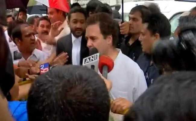 मानहानि के मामले में राहुल गांधी को 10 हजार के मुचलके पर पटना कोर्ट से मिली जमानत