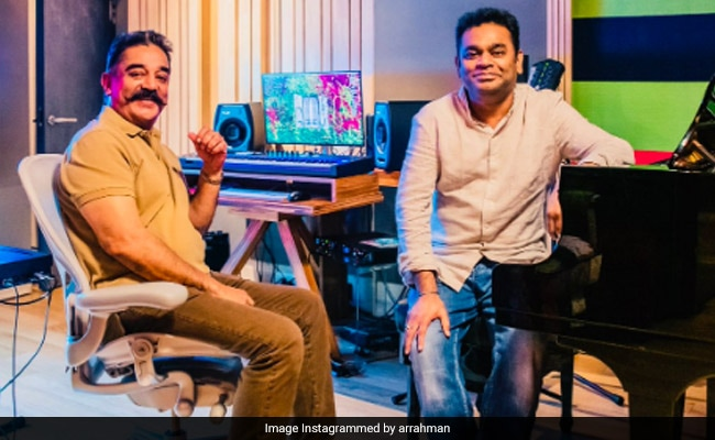 AR Rahman, Kamal To Reunite After 19 years For 'Thalaivan Irukkindraan'