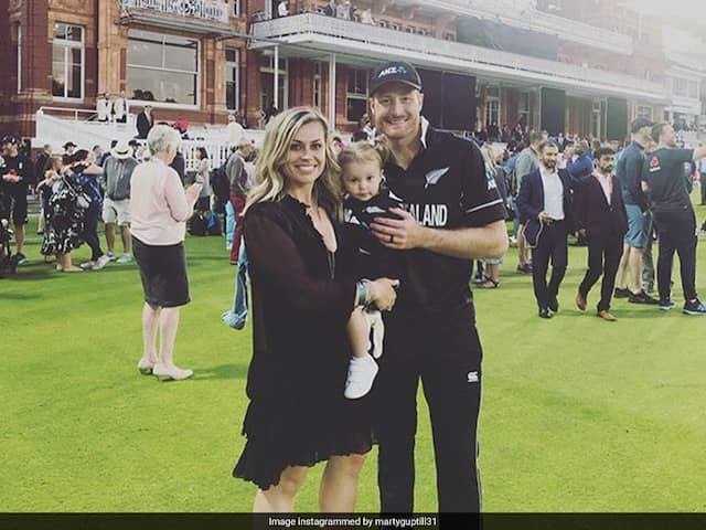 Martin Guptill Thanked His  Wife Daughter For Their Support On The World Cup 2019 Final