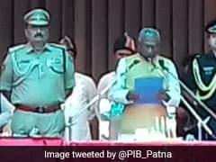 बिहार : बीजेपी के जातीय सम्मेलन में शामिल हुए राज्यपाल फागू चौहान