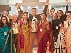 Akshay Kumar Celebrates <I>Mission Mangal</I>'s Women Scientists In Pic With Vidya Balan, Taapsee Pannu And Sonakshi Sinha