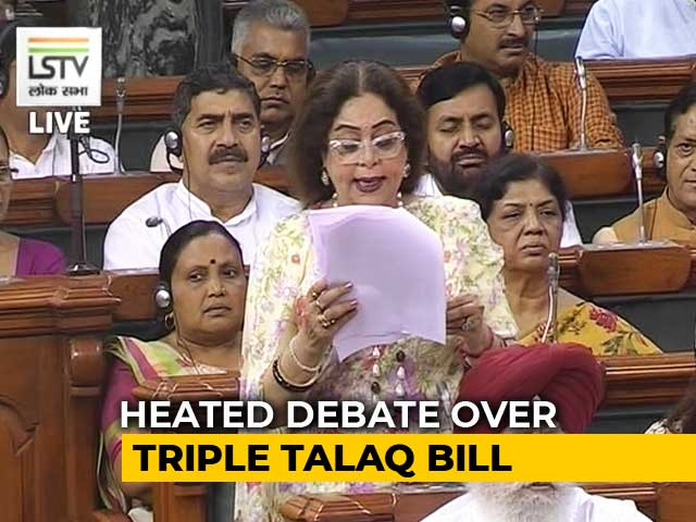 Video : We Have Stood For Shah Banos Of This Country: Kirron Kher On Triple Talaq