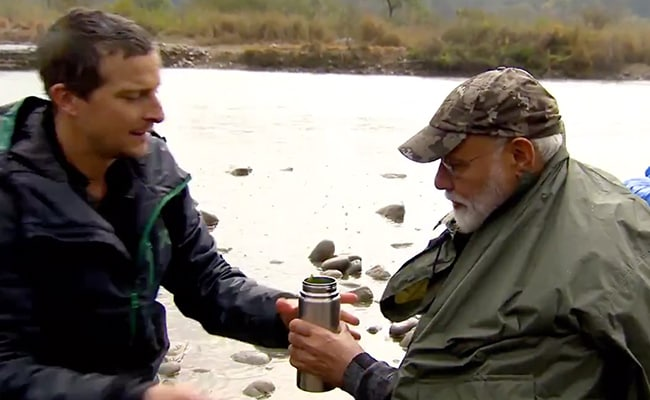 PM Modi With Bear Grylls In 'Man vs Wild': When And Where To Watch