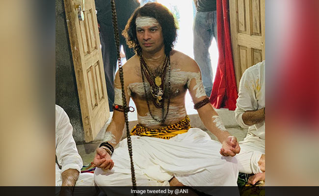 After Playing Krishna, Tej Pratap Yadav Back In Shiva Costume