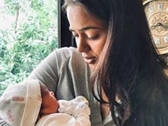 Sameera Reddy Shares First Pic Of Baby Daughter: 'This Little Girl Gave Me The Strength Of Wild Horses'