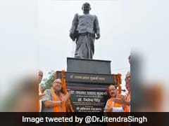 Statue Of Syama Prasad Mookerjee Unveiled In Jammu And Kashmir's Kathua