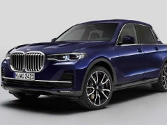 BMW Shows Off One-Off X7 Pick Up