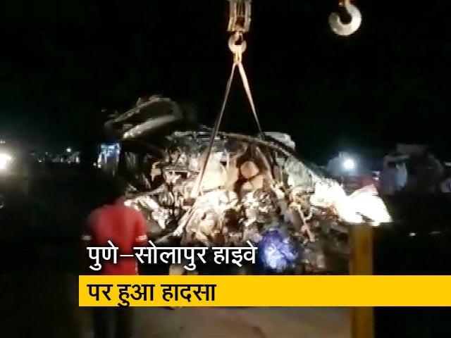 Videos : महाराष्ट्र: ट्रक-कार की जबरदस्त टक्कर, 9 छात्रों की मौत