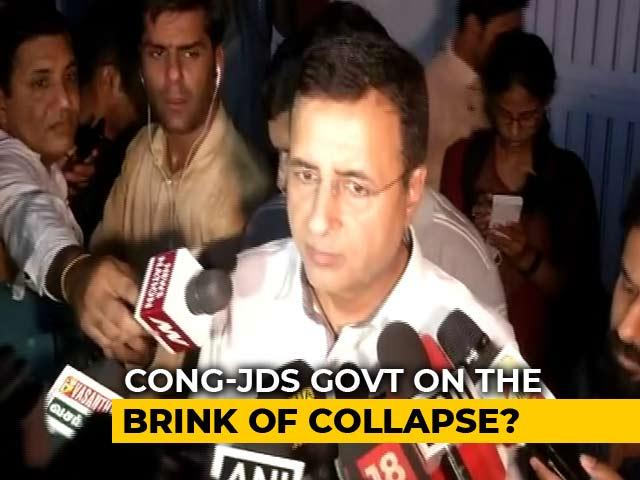 "Video : ""Democracy Denigrated"": Congress Attacks PM Modi, BJP On Karnataka Crisis"