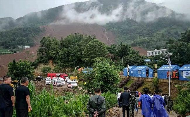 11 Killed, 42 Missing In China Landslide