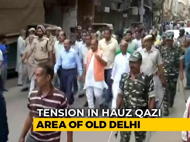 Video : Tension In Old Delhi Over Clash Between Groups, Vandalism At Temple