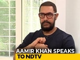 Video : PM And I Find Common Ground To Work Together: Aamir Khan On Water Conservation