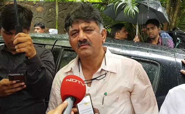 Congress Leader DK Shivakumar Files Defamation Case Against BJP Lawmaker
