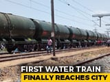 Video : First 50-Wagon Train Carrying Water For Chennai Arrives In Parched City