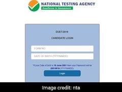 DUET Result 2019: दिल्ली यूनिवर्सिटी एंट्रेंस टेस्ट का रिजल्ट जारी, यहां डायरेक्ट लिंक से करें चेक
