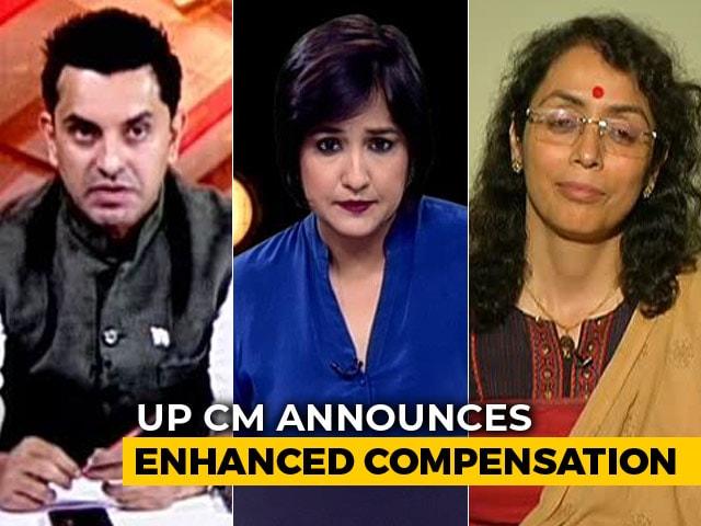 Video : Yogi Adityanath's Visit To Site Of UP Massacre A Photo-OP Politics?