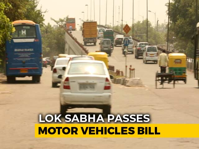 Video : Stricter Penalty For Traffic Violation In Centre's Motor Vehicles Bill