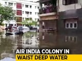 Video : Air India Colony In Mumbai's Kalina Flooded, Power Cut Off