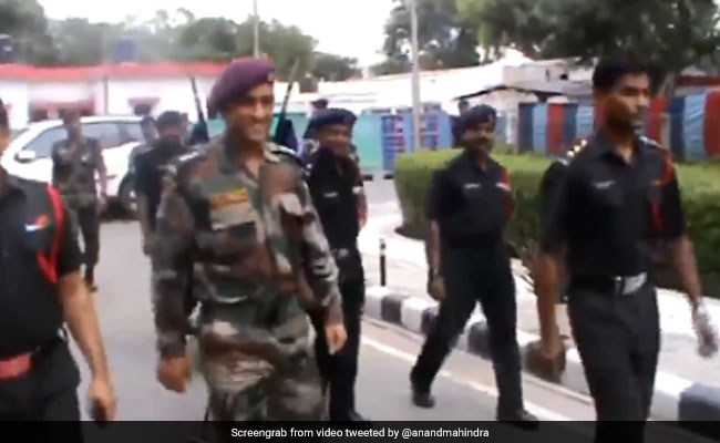 Why Anand Mahindra Shared A 3-Year-Old Video Of MS Dhoni